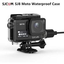 SJCAM-funda impermeable para motocicleta SJ8, con Cable tipo C, Cámara de Acción 4K, para SJ8 Pro / SJ8 Plus / SJ8 Air