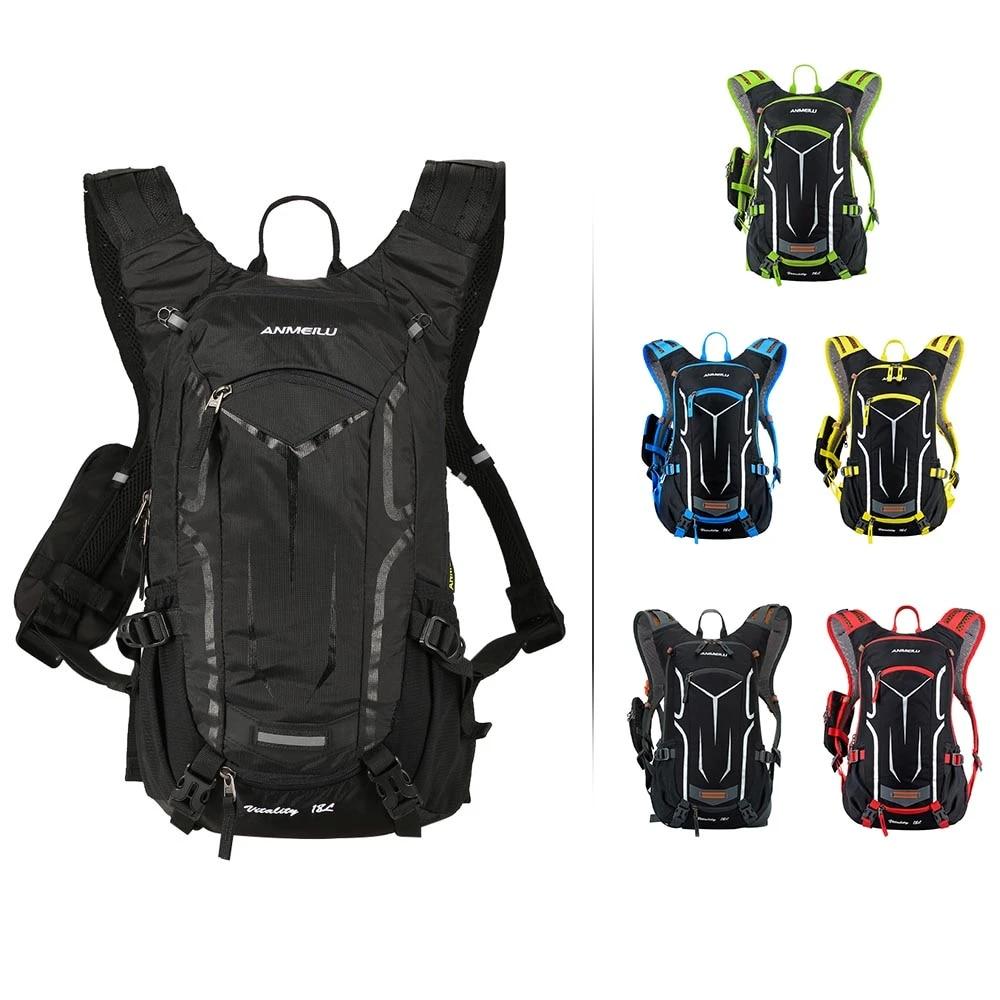 Outdoor 2L Bike Water Bladder Bag Camping Hiking Sport Water Portable Po RCWIPTU