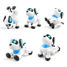 C5AF Remote Control Dog RC Robotic Stunt Puppy Voice Control Toys Electronic Pet Dancing Programmable Robot with Sound for Kids
