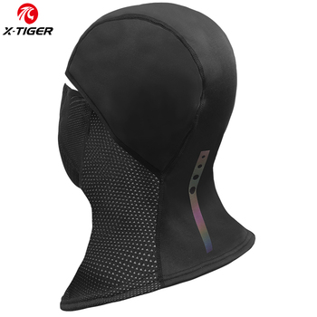 X-TIGER Winter Cycling Cap Fleece Thermal Full Face Cover Windproof Anti-Dust Cycling Mask Balaclava Skiing Skating Outdoor Hat 1