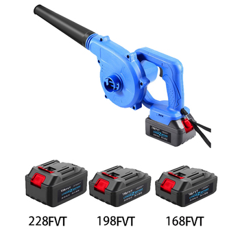220V 27000mAh Cordless Lithium Battery Electric Air Blower Blowing and Sucking Dual-useDust Computer cleaner Electric Turbo Fan abeden electric leaf blower 20v max lithium cordless sweeper 3 0 ah battery charger included turbo fan dust cleaner collector
