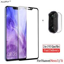 2-in-1 Tempered Glass Huawei Nova 3 i Camera Screen Protector 3i Protective Film