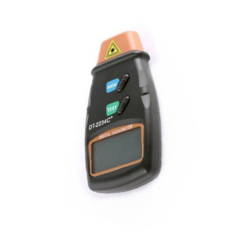 Aletler'ten Hız Ölçme Cihazları'de Dijital Lazer Takometre El Dijital Takometre Lazer temassız Hız Göstergesi title=