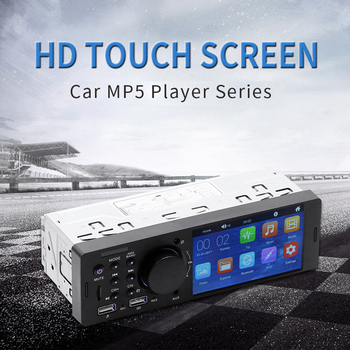 Car Radio 4 HD Touch Screen Autoradio MP5 Player Car Stereo Radio Bluetooth USB FM image
