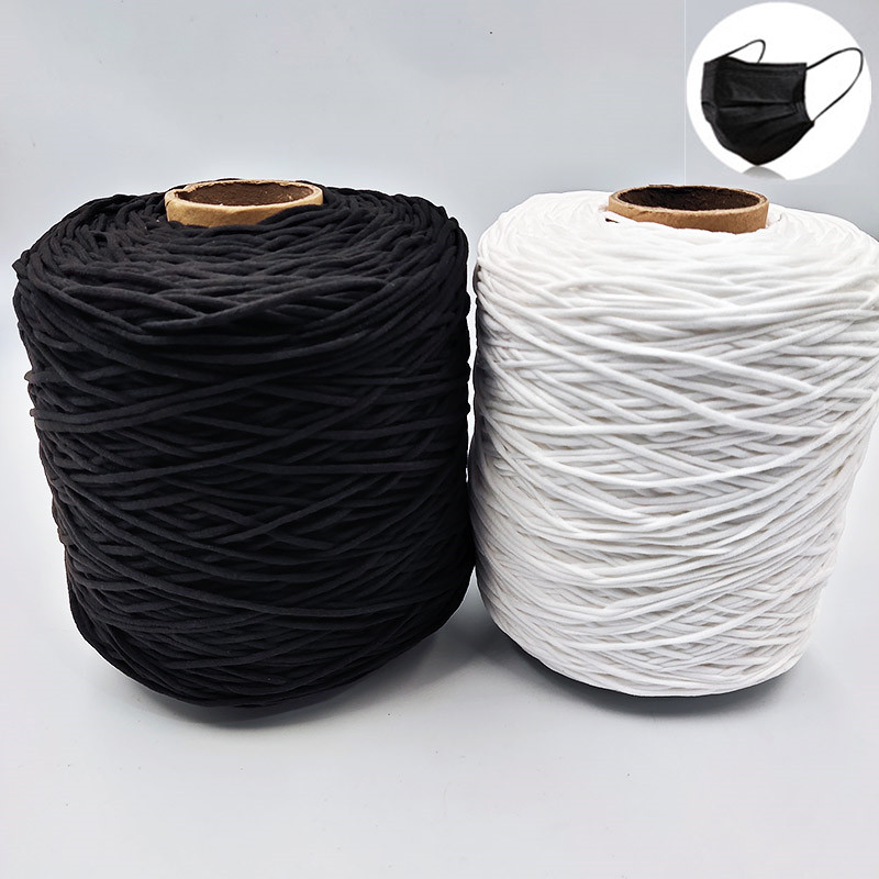 WHITE SEWING KNITTING CLOTHING CRAFT RUBBER ELASTIC BAND CORD 3m X 12mm