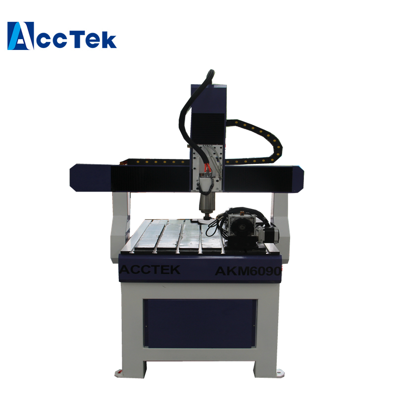 Professional Wood Cnc Router AKM6090 With Rotary Optional