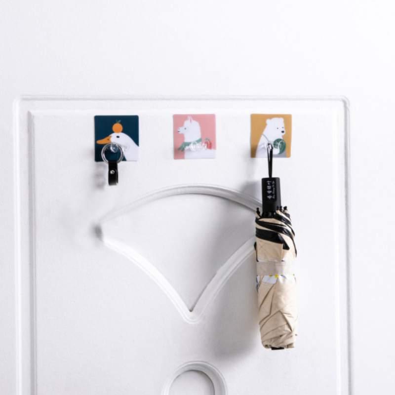 Прозрачный силовой настенный клей ШТЕПСЕЛЬНАЯ Розетка Держатель Вешалка Крюк домашний декор многоцелевые крючки доступны несколько типов штекеров
