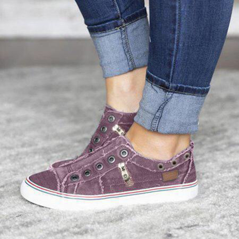 Shoes Woman Vulcanized-Sneakers Canvas Classic Autumn Breathable Casual Flat Mujer Spring title=