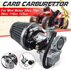 19 мм карбюратор воздухозаборника с 38 мм воздушным фильтром для 50cc 70cc 90cc 110cc 125cc скутер мини мотор ATV Байк картинг