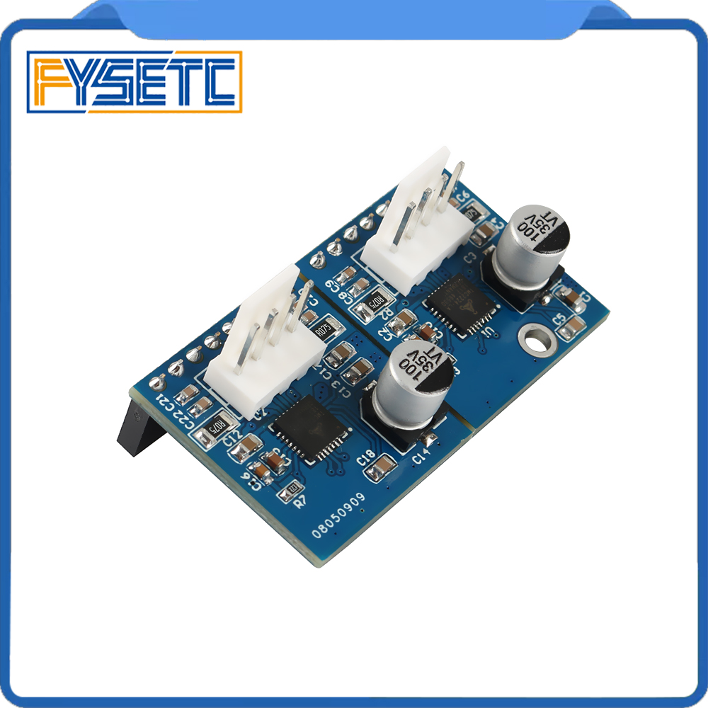 Duet 2 Maestro Dual Stepper Driver Channel Expansion Module With 2x TMC2224 Stepper Drivers Up To 256 Microstepping