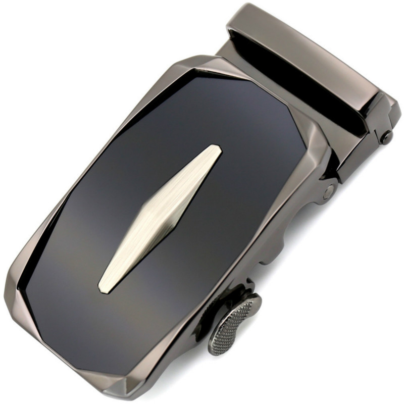 Genuine Men's Belt Head, Belt Buckle,Leisure Belt Head Business Accessories Automatic Buckle Width 3.5CM Luxury Fashion LY188953