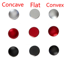 50pcs Shutters Camera Shutter Release Button Black Red Silver Flat Convex Concave for Canon Nikon Leica for Hasselblad Fuji