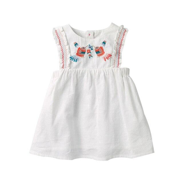 Little maven dress Baby Kids Girls Dress Flower 2020 Summer Toddler Girl Fancy elegancka sukienka letnie ubrania bez rękawów