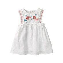 Pouco maven Do Bebê vestido de Crianças das Meninas Flor Vestido de Verão 2020 Da Menina Da Criança Fantasia Elegante Vestido de Verão Sem Mangas Roupas