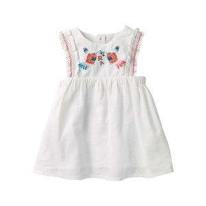 Image 1 - リトルmavenドレスベビーキッズガールズドレス花 2020 夏の幼児の女の子のファンシーエレガントなドレス夏のノースリーブの服