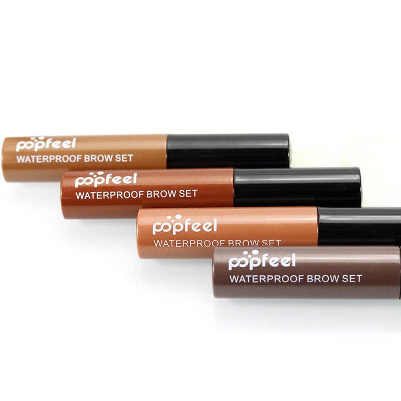 Nouveau chaud marque maquillage sourcils Gel café noir brun peinture sourcils Gel imperméable sourcil teinte Mascaras Kit Sobrancelha mode