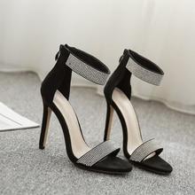 Sexy Bling Crystal Super High Heel