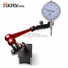 Indicador de Dial de 10mm Indicador de Dial magnético soporte de Base magnética Universal báscula de mesa indicadores de precisión medida