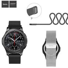 HOCO Band Voor Samsung Galaxy Horloge 46mm Milanese Loop Strap Armband Gear S3 Frontier Klassieke Horlogeband Voor Huawei Horloge GT Riem