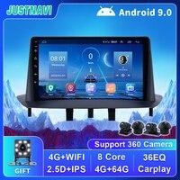 Lettore multimediale per autoradio Android 9.0 per Renault Megane 3 Fluence 2008-2014 con 4G WIFI DSP OBD Carplay 2 Din No Radio DVD