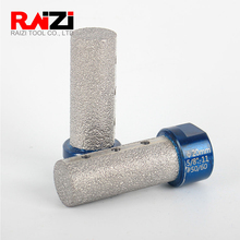 Raizi 1 Pc Diamond Finger Bits For Enlarging Shaping Holes On Porcelain Tile Marble Granite 10/15/20/25 mm milling Tools