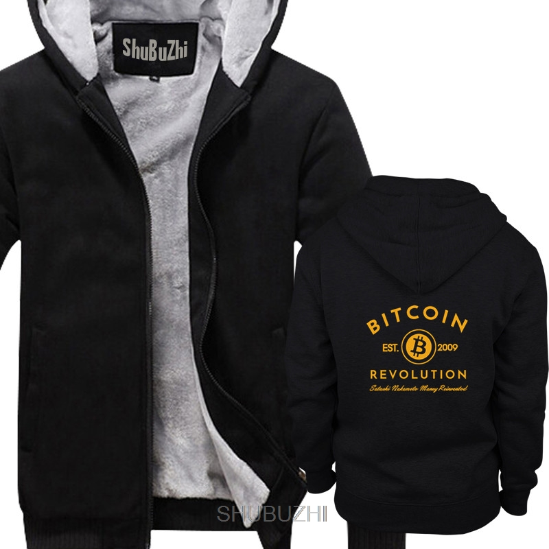 BITCOIN REVOLUTION - BITCOIN CRYPTO - CRYPTO CURRENCY men thick hoodies Cool casual male hoody men Unisex Fashion hoodie sbz6105 1
