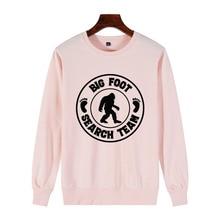 Women Print Bigfoot GONE SQUATCHIN Sasquatch Champion Sweatshirt Aesthetic Sweatshirt New 100% Cotton Novelty Casual Streetwear sasquatch fabrix толстовка