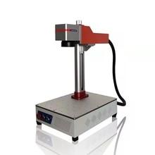 30W 50W 60w profonda incisione mopa colore ipg acciaio del metallo 3d mini laser a fibra marcatura prezzo della macchina
