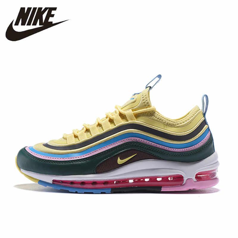 Nike Air Max 97 Ultra SE Running Shoes for Men Esporte Tênis Ao Ar Livre Respirável Confortável