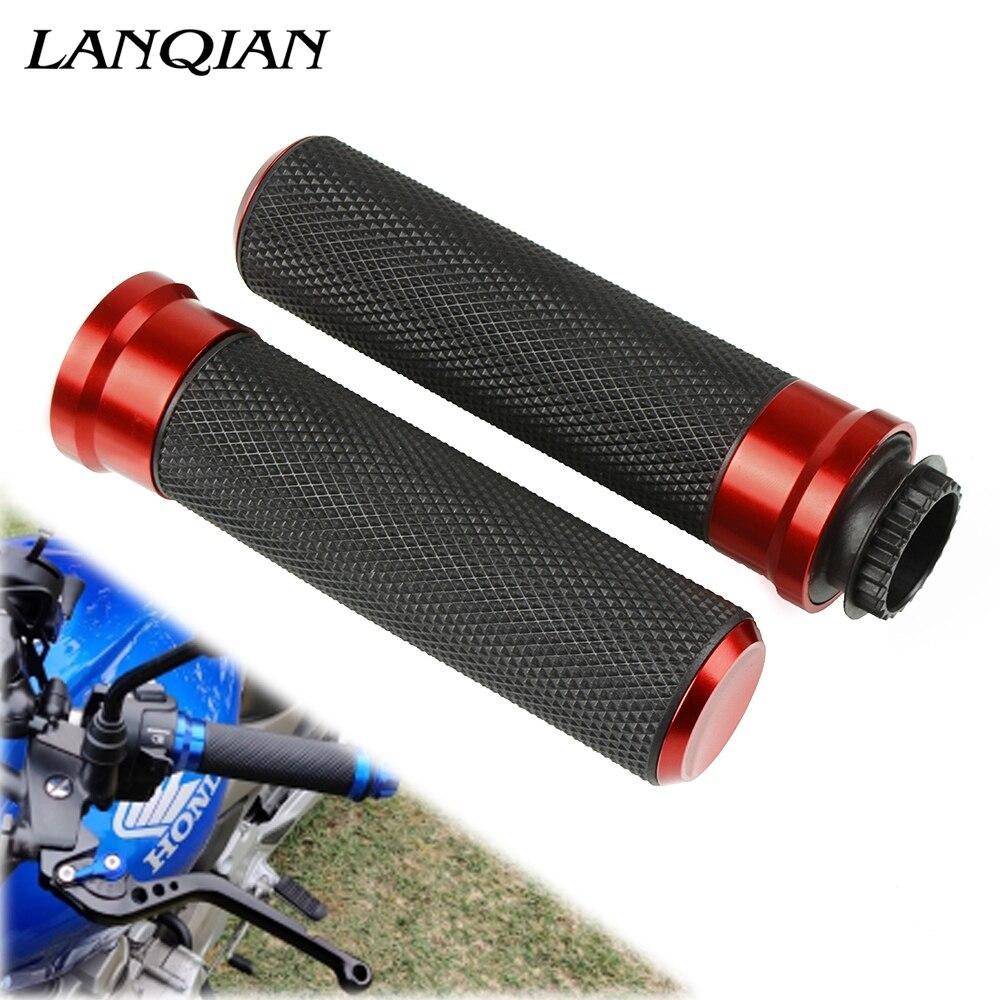 Motorcycle Accessory Poignee Moto Aluminum Hand Grip Aluminum Plastic For Bmw F 800 Gs Suzuki V Strom 650 Suzuki Bandit 400