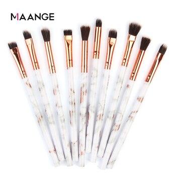 MAANGE Multifunctional 5/7/10pcs Marbling Makeup Brushes Set Eyeshadow Eyeliner Concealer Brush set Mini Make Up Brush Tool Kit 1