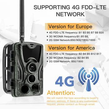 Suntekcam 4G Hunting Trail Camera  FTP SMTP MMS 20MP 1080P HC801LTE Wireless Cellular Wildlife Cameras  0.3s  Hunting Cam IP65 3