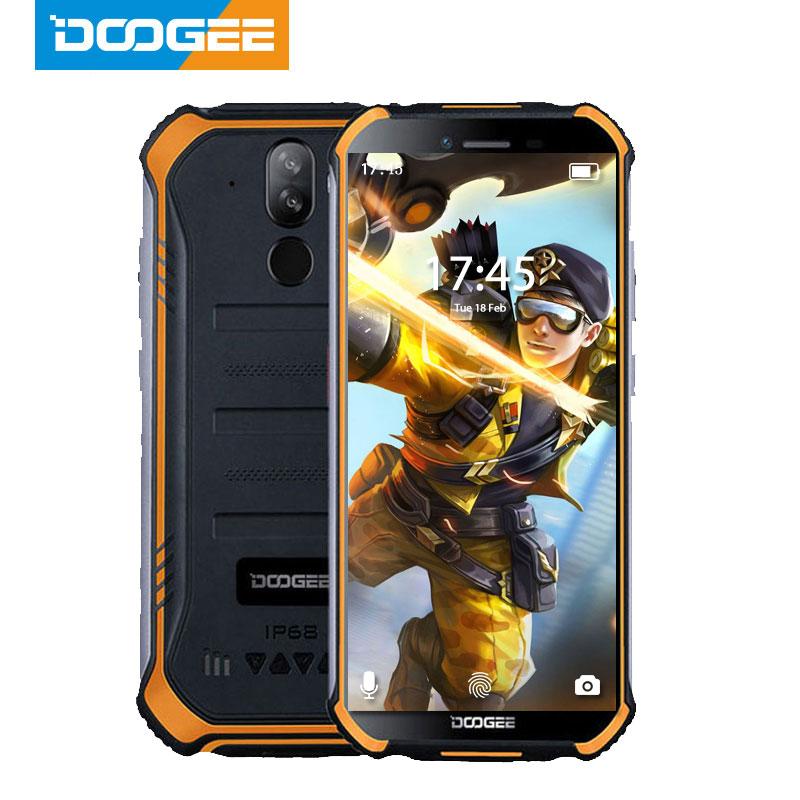 DOOGEE S40 2GB 16gb IP68 IP69K Nfc Quad Core Fingerprint Recognition 8mp New Mobile-Phone