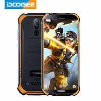 DOOGEE S40 IP68 IP69K Del Telefono Mobile Display da 5.5 pollici 4650 mAh MT6739 Quad Core 3 GB di RAM 32 GB di ROM android 9.1 8.0MP Macchina Fotografica 4G Rete