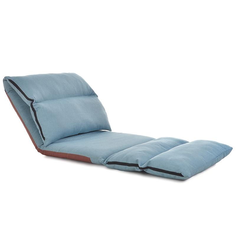Lazy Sofa Chair Single Tatami Folding Sofa Bed Modern Minimalist Bedroom Balcony Bay Window Small Lounge Chair