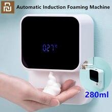 Nova xiaozhi display led indução automática espuma de espuma sensor lavadora mão do agregado familiar sensor infravermelho para casas shopping wc