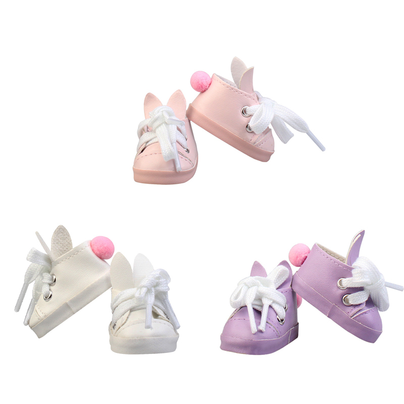 Handmade Exquisite Heart PU Leather Doll Shoes For Blythe Doll Russian Doll Shoes 1/6 Doll