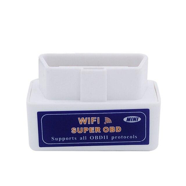 Mini Scanner de Diagnostic Wifi Elm327   2019, Wifi V1.5 25k80 Obdii, Wi Fi, Elm 327 PC android Obd2 1.5 lecteur de Code, puce 25k80