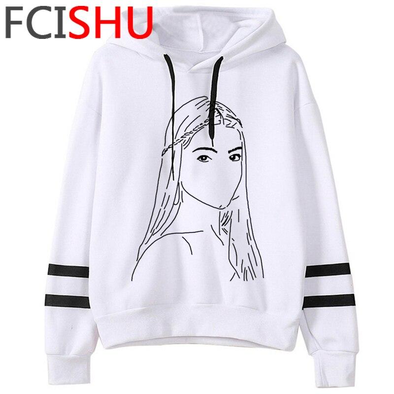 Fashion Charli Damelio Merch Ice Coffee Graphic Hoodies Women Harajuku Ullzang Funny Cartoon Sweatshirt Wimter Warm Hoody Female 10