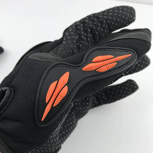 Image 4 - Nonskip Motorcycle Gloves For KTM Racing LOGO Unisex Touch Screen Motocross Gloves Breathable Cycling Racing Riding Motorbike
