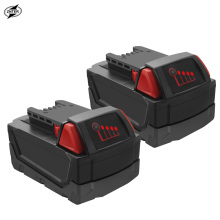 цена на Original ZNTER 18V 6000mAh M18 XC Li-Ion Replacement Battery for Milwaukee 48-11-1815 M18B2 M18B4 M18BX L50 Tool Batteries
