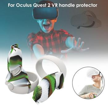 VR Accessories For Oculus Quest 2 VR Controller Cover Handle Grip Protector Shell Silicone Full Protective Sleeve For Quest2 Vr