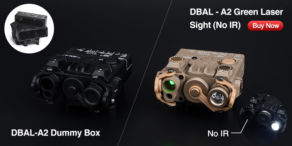 caça rifle dbal a2 indicador laser modelo