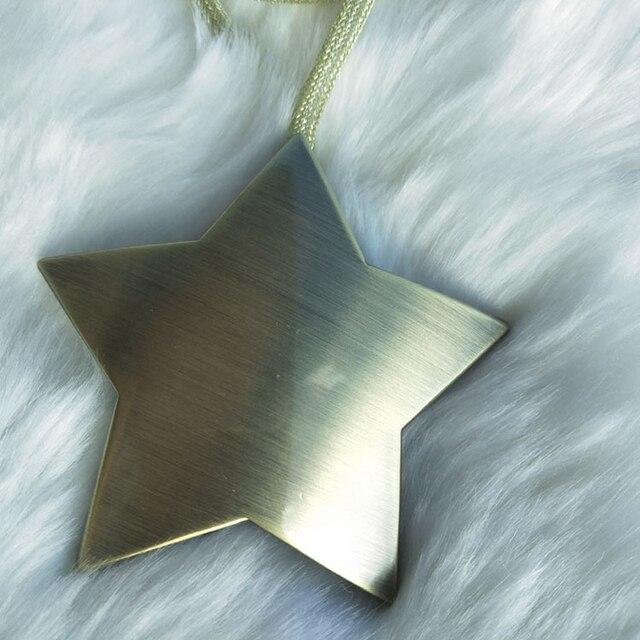 Rideau étoile porte-cravate magnétique à boucle | Rideau étoile à brochette, rideau à suspendre pour salle de maison, décoration dorée
