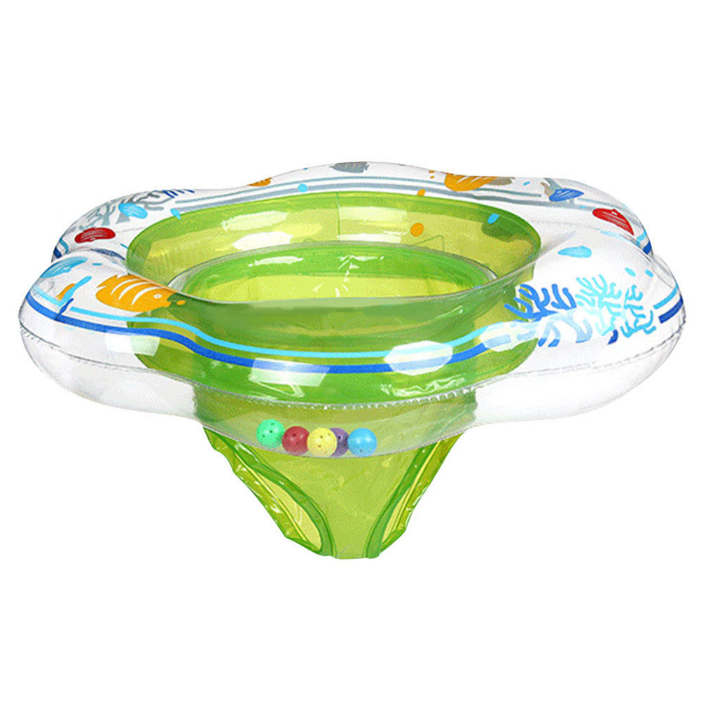 Pool Bathing Trainer Seat Floats Swimming Rings Inflatable Aid Portable Toy Durable Sport Toddler Safety Water Baby