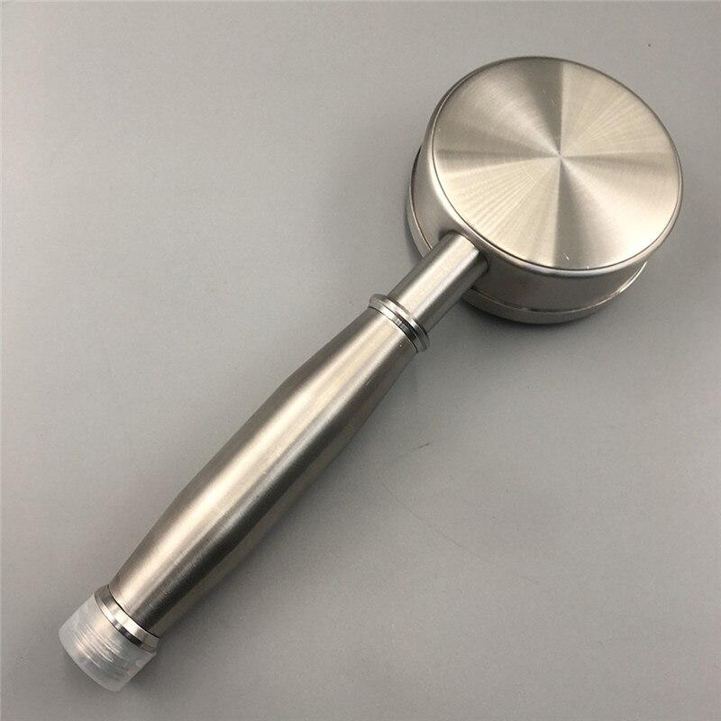 Shower-Head Bathroom Pressurized Stainless-Steel Round