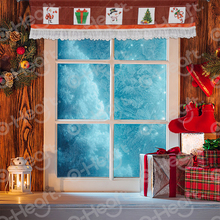Christmas curtain Valance Lace Window Valances With Red And White Checkered Plaid Decor For Home Kitchen Living Room