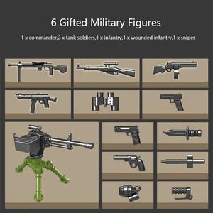 Image 4 - 1068 pcs 군사 IS 2M 무거운 탱크 군인 무기 빌딩 블록 맞는 레고 기술 ww2 탱크 벽돌 육군 100062 어린이 장난감 선물