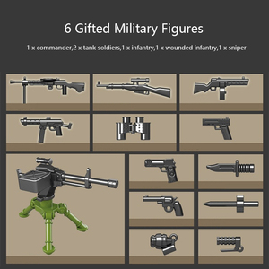 Image 4 - 1068 stücke Military IS 2M Heavy Tank Soldat Waffe Bausteine fit LegoING Technik WW2 Tank Ziegel Armee 100062 Kinder Spielzeug geschenke