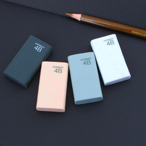 4Pcs/Lot High quality 4b eraser pencil eraser student stationery school office supplies